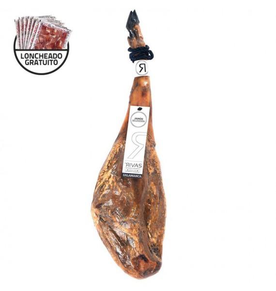 JAMON SELECCIÓN  6,5/7 kg 24 MESES (SALAMANCA). PROMOCION: CORTE CUCHILLO GRATUITO