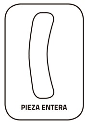Pieza entera